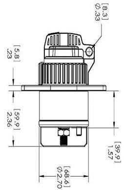 高压直流接触器(全密封手动电池开关)HBD21外形图