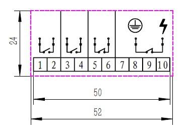 ckj11辅助开接线标示