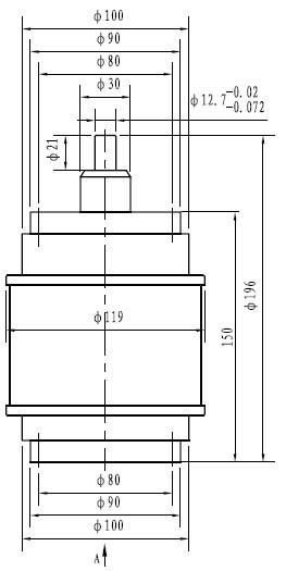 可变真空电容器cktb75/32/79