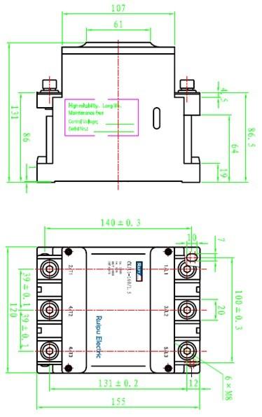 ckj11交流真空接触器