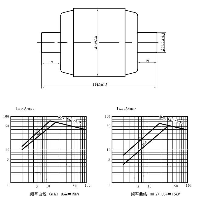 CKT1-75-0025|固定真空电容器CKT75/18/75